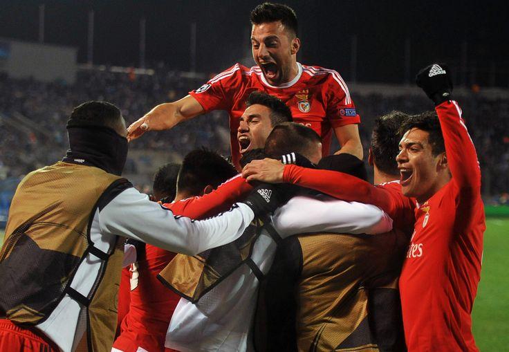 @Benfica Após vencer o jogo de ida por 1 a 0, os Encarnados viram o Zenit abrir o placar em São Petersburgo com Hulk. Mas tiveram tranquilidade e apostaram no contra-ataque para conseguir a virada, que veio nos pés de Gaitán e o brasileiro Anderson Talisca #9ine