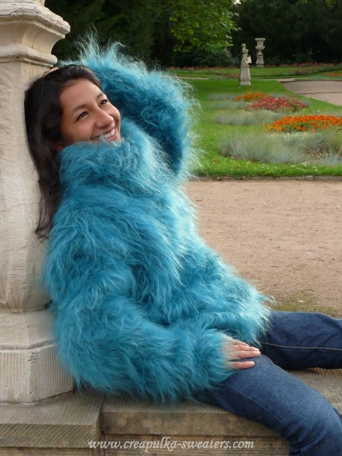Super Hairy Mohair Sweater Sweaters Pinterest Mohair