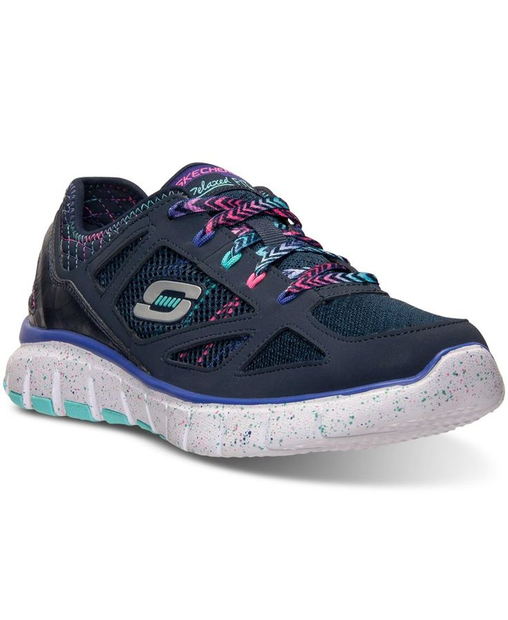 Skechers Girls Relaxed Fit: S Flex - Fashion Play Running Sneakers from Finish Line