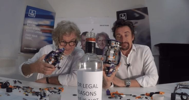 Hammond and May will Make Lego and A Bottle of 'Not Vodka' a Thing   Grand Tour Nation