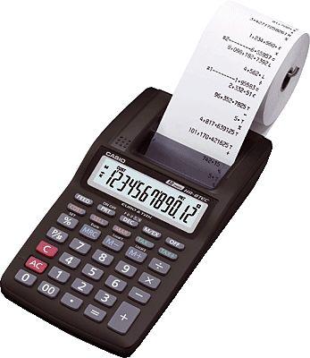 HR-8 Calculadora Casio con Impresora