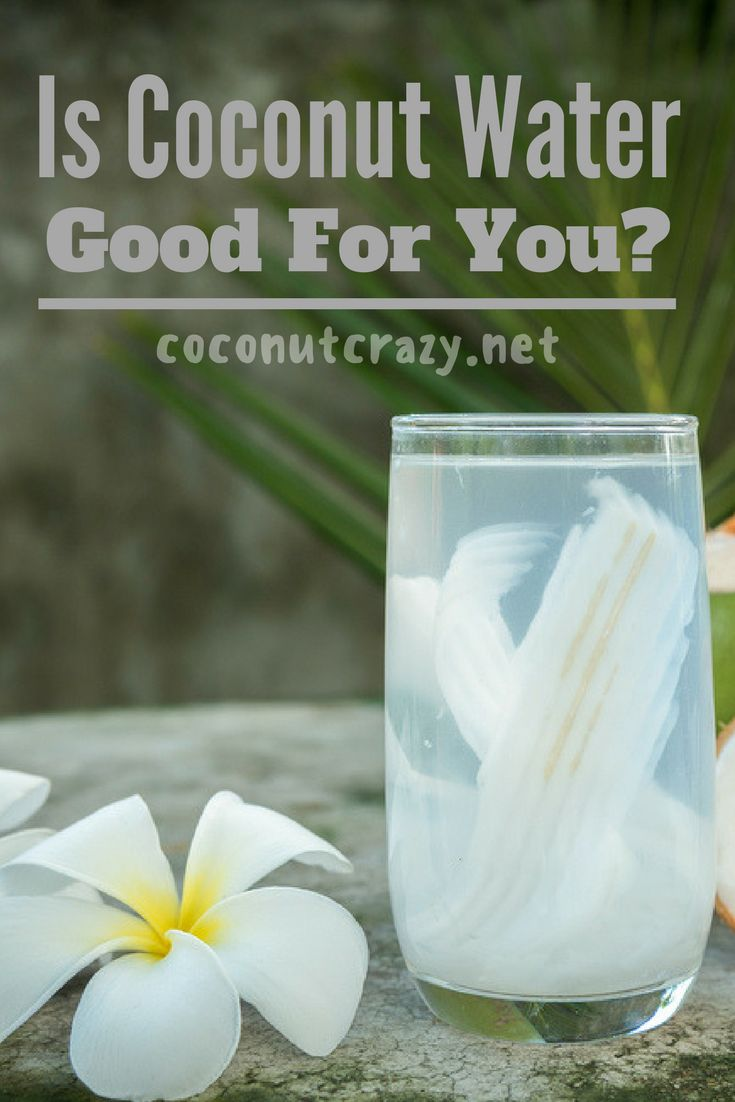Is Coconut Water Good For You?  Coconut water is amazing, it has so many health benefits that are impossible to ignore, if you've been asking yourself if Coconut Water is good for you, here's everything you need to know:    #coconutwater #coconutwaterhealthbenefits #healthbenefitscoconutwater