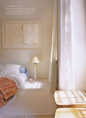 Back to Basics: Beds on the Floor  (from Apartment Therapy)