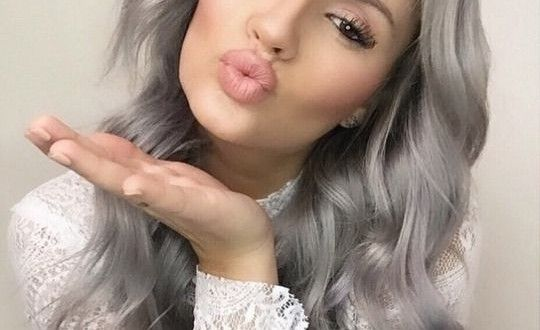 Top 20 Gray Hair ideas, trends