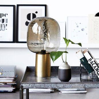 Lampe à poser Note diffuseur Marron - House Doctor - 199€