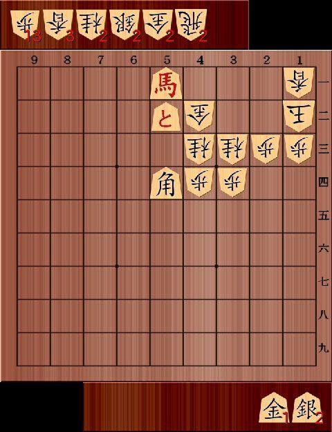 """将棋に没頭する佐々木千枝botさんのツイート: """"第74期名人戦第二局の最終盤から、名人の羽生先生が1分将棋で逃した局面を部分図にしてupします。ホントに詰パラに載ってもおかしくないような難しい詰将棋です。 https://t.co/b7FHoxW94Z"""""""