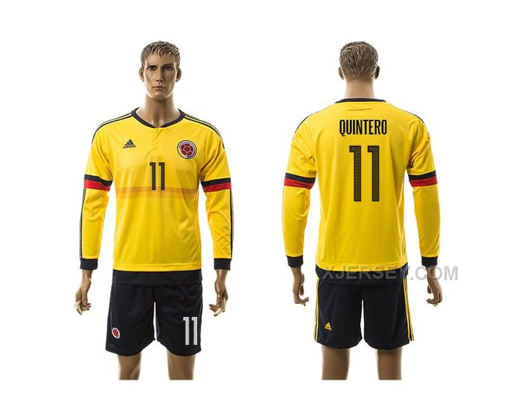 http://www.xjersey.com/201617-colombia-11-quintero-home-long-sleeve-jersey.html 2016-17 COLOMBIA 11 QUINTERO HOME LONG SLEEVE JERSEY Only $35.00 , Free Shipping!