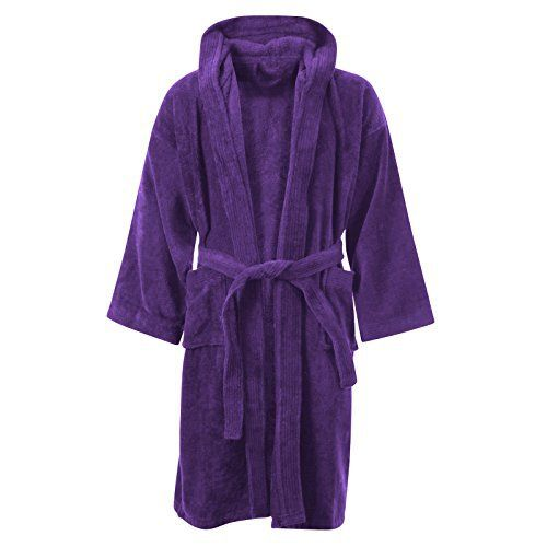 MYSHOESTORE – Peignoir de bain – Fille – violet – Medium: Tweet