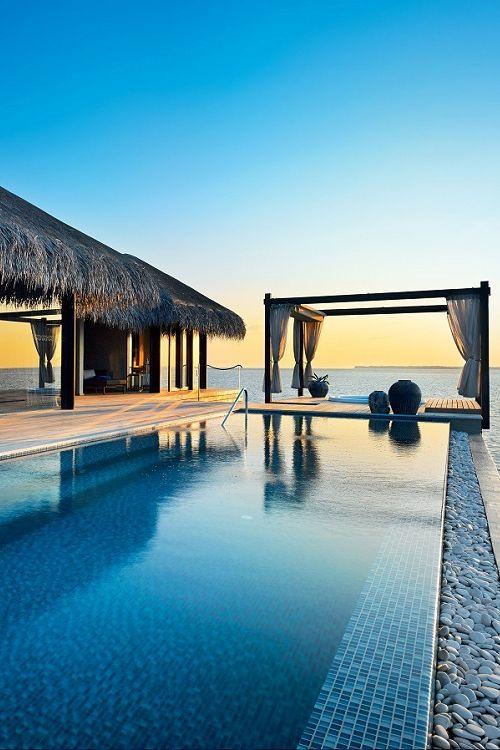 """livingpursuit: """" Veela Private Islands, Maldives """""""