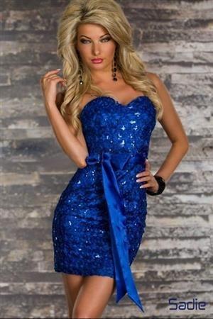 SADIE BLUE Dámské šaty, párty šaty, společenské šaty