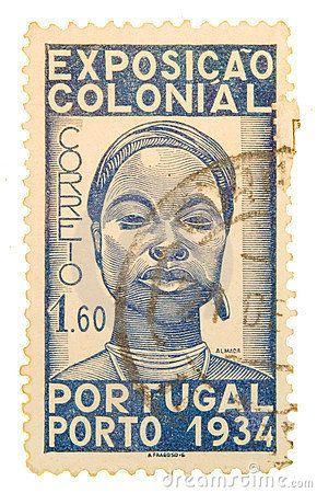 VINTAGE PORTUGAL POSTAGE STAMP