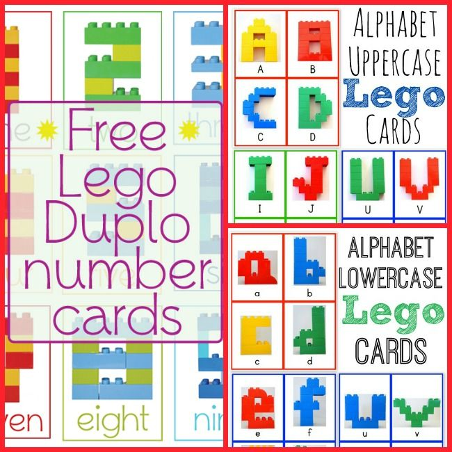 15 Learning Activities with LEGO DUPLO