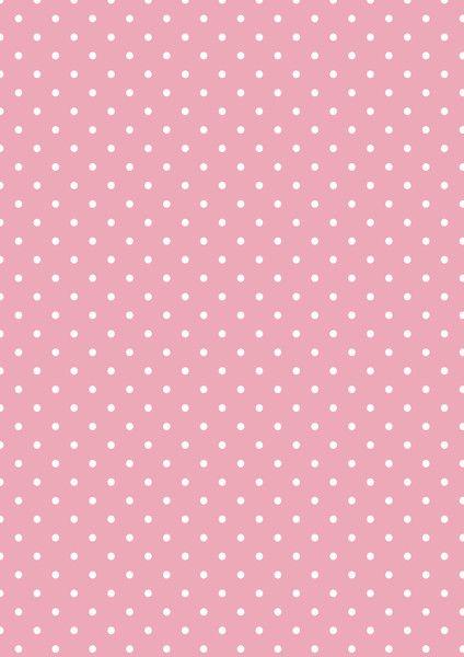 Cicideko -  Pink Polka Dot Digital Paper
