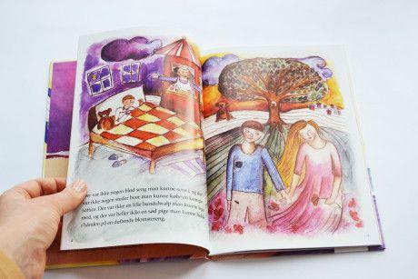 """Book Illustration for """"De Tre Troldmænd"""" (Alkalaer, Denmark) - Lise Bye Kjeldsen"""