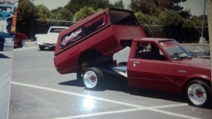 Mitsubishi Mini Trucks, 1980s fun Pinterest
