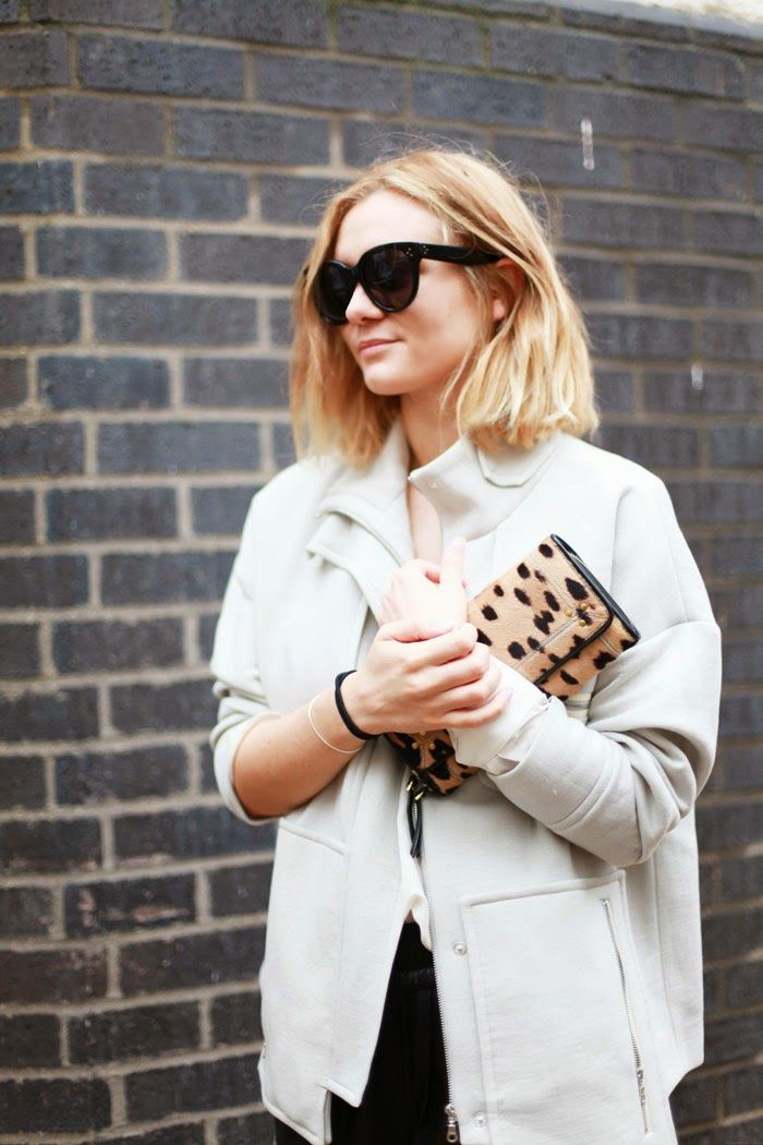 Add a pop of print to plain basics / the love assembly