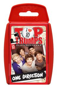 Top Trumps gets the One Direction treatment