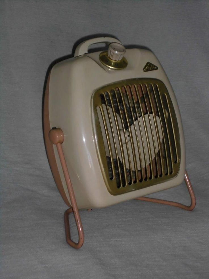 Heizlüfter Warmlüfter ISMET electric Fan & Heater 50er