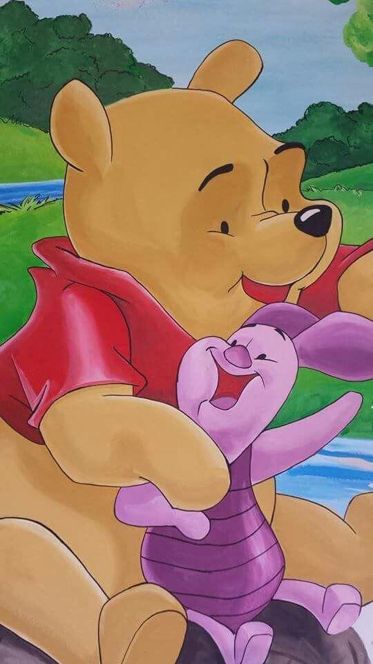 Winnie the Pooh wall mural by Art-Kor