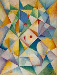 Wobbe Alkema (1900-1984) Tussen 1930 en 1940 had hij reizen naar Duitsland gemaakt waarna hij somber gestemd door de ontwikkelingen daar weer terugkwam. Hij was zo gegrepen door de vijandige houding tegenover de moderne kunst in Duitsland (Entartete Kunst), dat hij veel van zijn eigen werk vernietigde. Het duurde tot 1947 voor hij weer aan het schilderen ging.