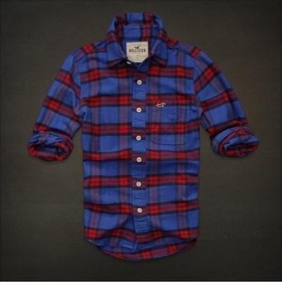 WOW! Ive been using this new weight loss product sponsored by Pinterest! It worked for me and I didnt even change my diet! I lost like 26 pounds,Check out the image to see the website, NEW HOLLISTER By Abercrombie MENS CASUAL SHIRT FLANNEL PLAID L Blue