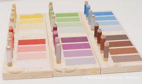 Wunschkind - Herzkind - Nervkind: Montessori selbstgemacht - Der Schattierungskasten