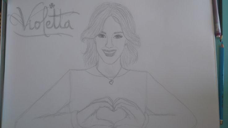 Violetta, Martina Stoessel sketch