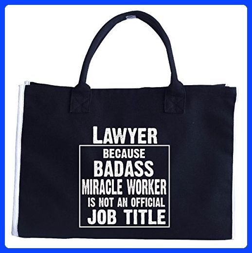 Lawyer Cos Badass Miracle Worker Is Not A Job Title - Tote Bag
