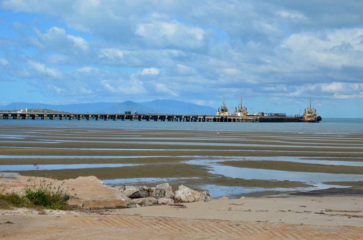 Bowen, QLD where the film Australia was shot for the wharf scene.