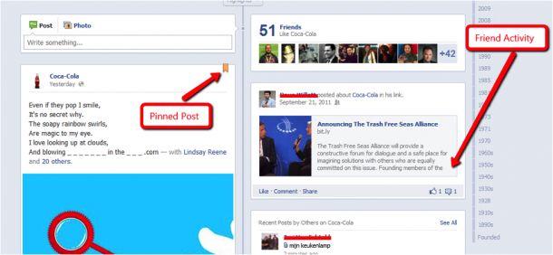 5 Innovative Uses Of Timeline For Facebook Pages Timeline - sample advertising timeline