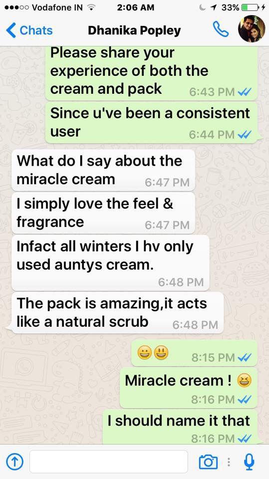 Dhanika from Mumbai has this to say :-)