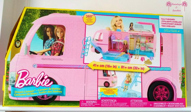 Disclosure: I received Barbie Dream Camper to facilitate this post. All opinions are my own. Several years ago, when my youngest daughter was a toddler, she