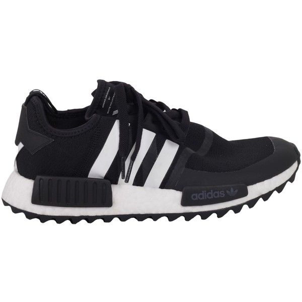 Adidas White Mountaineering Sneaker Wm Nmd Trail ($132) ❤ liked on Polyvore featuring men's fashion, men's shoes, men's sneakers, black, menshoessneakers, mens black sneakers and mens black shoes
