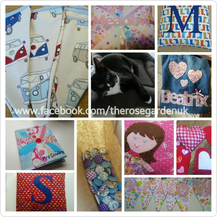 Recent makes from fabric on my facebook page  www.facebook.com/therosegardenuk