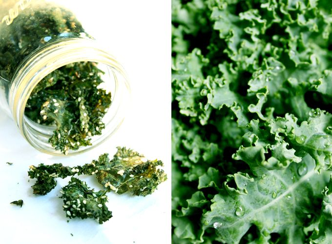 Totally Addictive Kale Crisps | My New Roots--- My hands-down favourite way to eat kale. Toddler adores it, hubby requests it and says he'd forever go without chips if he had these. I've made them in the oven (lined with parchment paper) and dehydrator (about 4-6 hours on low or 115 degrees), easy with either. Its combination of vitamins, minerals, and phytonutrients makes kale a health superstar, for real.