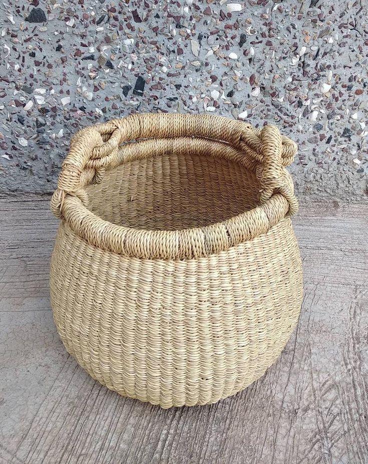 African basket market bolga basket birthday gift basket