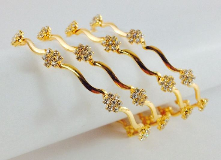 one gram base 18k gold filled bangles size:2.6 width 0.4 c.m, American diamond
