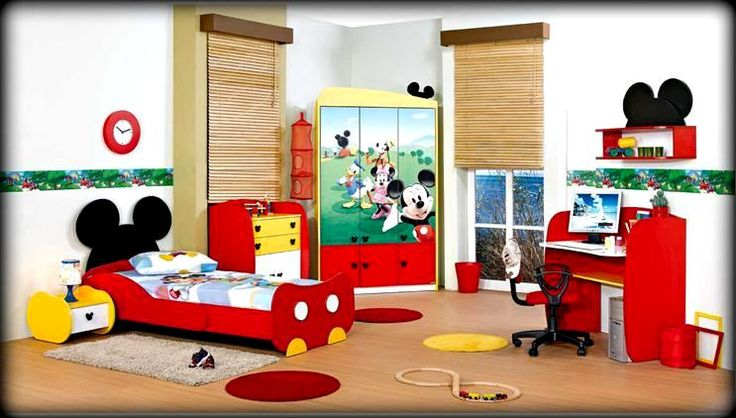 Cool Mickey MOuse room Ideas. Love ém! just love 'em. For sure for my baby boy If I'm blessed :D