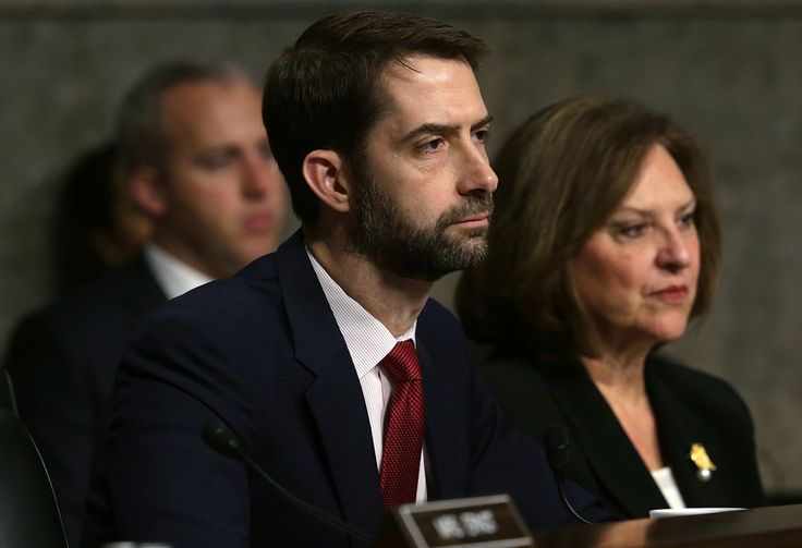 Want to watch Republican Sen. Tom Cotton of Arkansas get absolutely lacerated at a town hall on Wednesday night by a constituent who went thermonuclear on him for wanting to take away her dying husband's health insurance? Trust me on this: You really,...