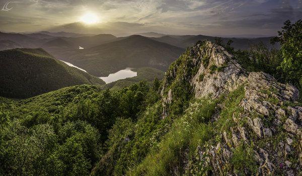 Západ slnka na Sivci
