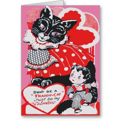 valentine heart in cats