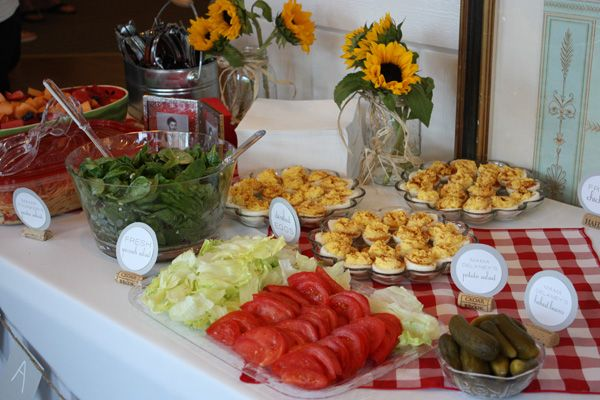 Baby Shower Bbq Food ~ Best images about bbq couples wedding shower on pinterest