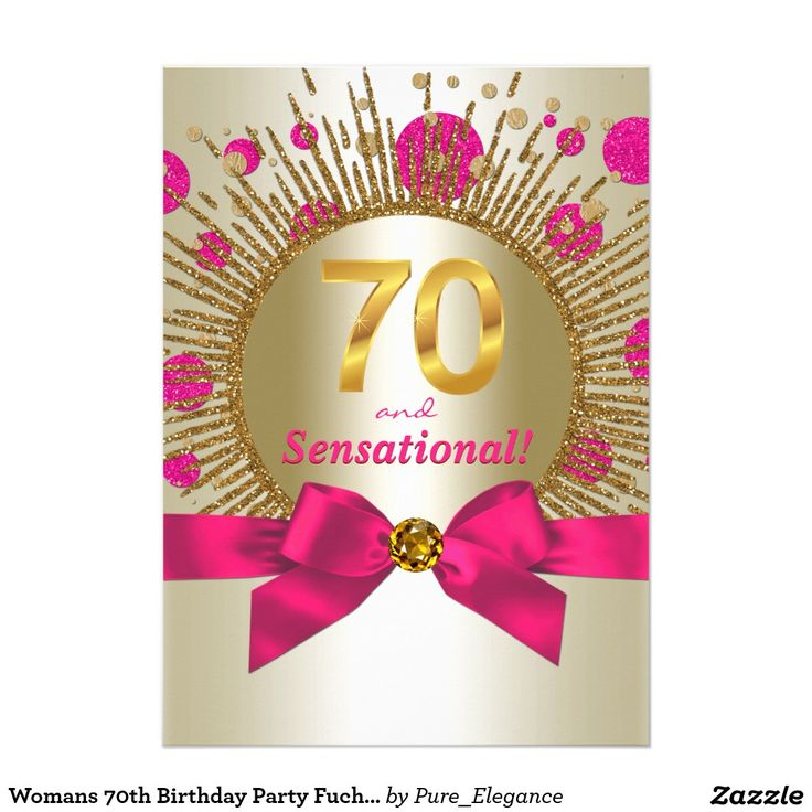 Best 25+ 70th birthday invitations ideas on Pinterest | 70th birthday ideas for mom, 80th ...