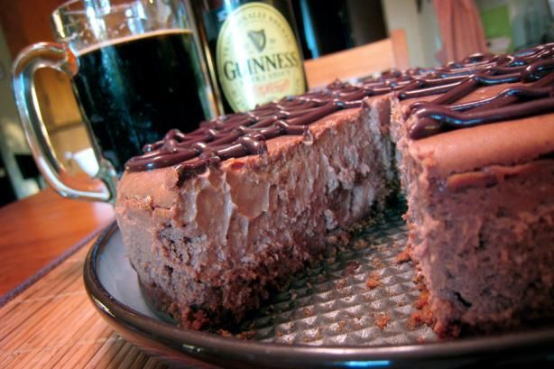 Check out Chocolate-Guinness Cheesecake. It's so easy to make! | The 4 ...