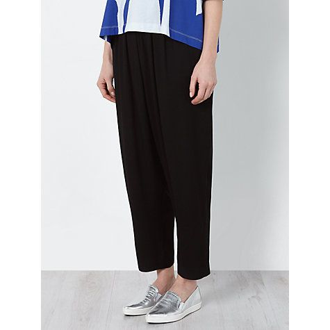 Buy Kin by John Lewis Laura Slater Limited Edition Hareem Trousers, Black Online at johnlewis.com