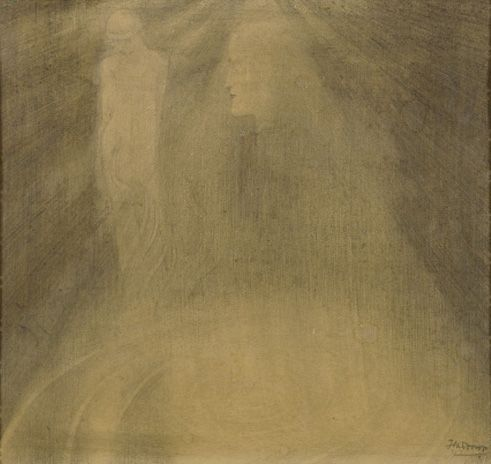 The Dream, Jan Toorop. Dutch (1858 - 1928)