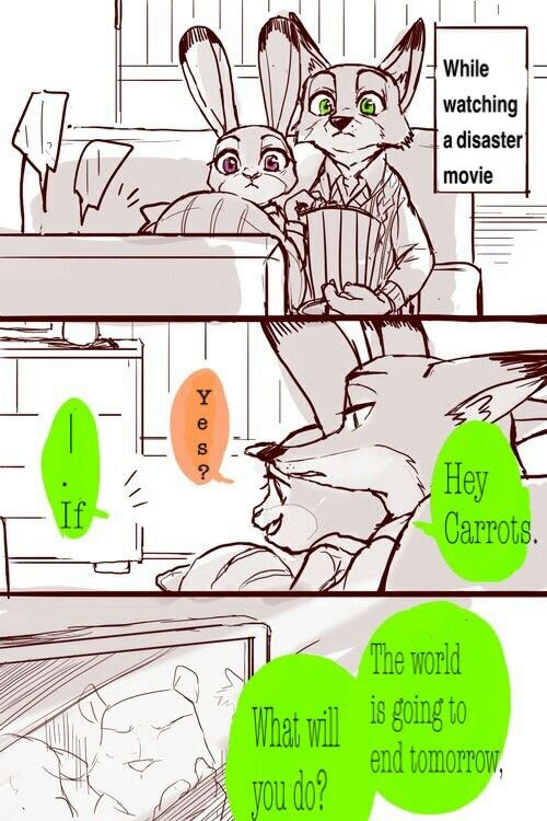 Zootopia comic. Page 1