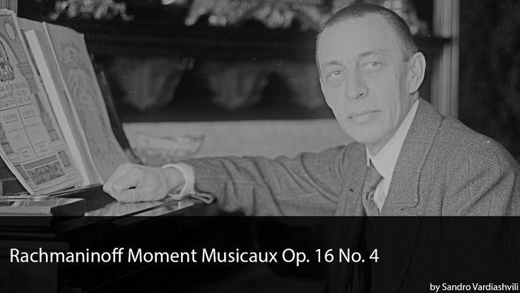 Rachmaninoff Moment Musicaux Op. 16 No. 4 in E Minor