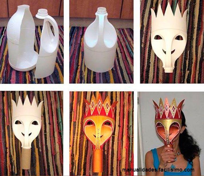 mascaras-carnaval-reciclados-complementos-disfraces-botellas