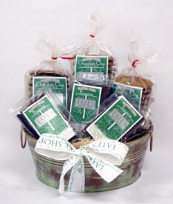 8 best gift baskets images on pinterest chocolate gifts gluten free chocolate chip basket gift basketschristmas negle